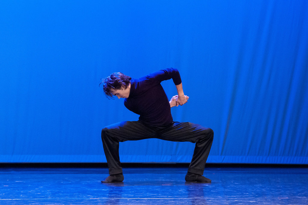 Jojo (Benjamin Birkner, Gold Tanzolymp 2013, photo from a performance in KUBIZ Unterhaching)